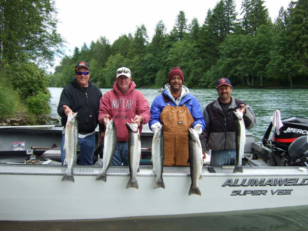Cowlitz river fishing guides book online here for Cowlitz river fishing