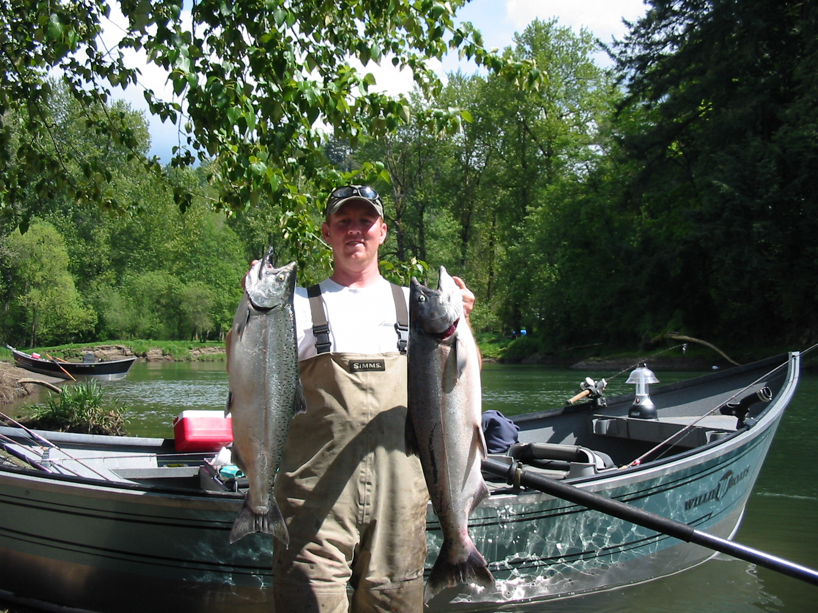 Salmon fishing in washington state book your trip today for River fishing tips